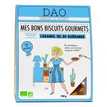 Dao - Biscuits Caramel Sel de Guérande bio - 140 g