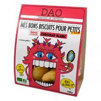 Dao - Biscuits Chocolat blanc - 130 g