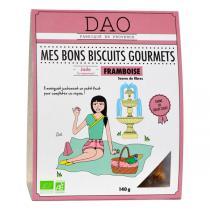 Dao - Biscuits Framboise bio - 140 g