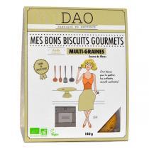 Dao - Biscuits Multi-graines vegan bio - 140 g