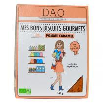 Dao - Biscuits Pomme Caramel bio - 140 g