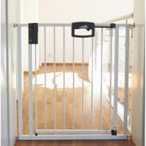 Geuther - Barrière Easy Lock métal blanc sans percer 68-76 cm