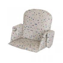 Geuther - Coussin de chaise tissu fleurs