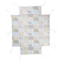 Geuther - Tour de parc pour parc 2231/2232/2261 patchwork papillon