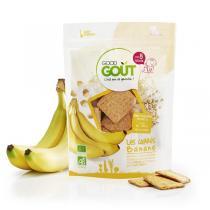 Good Gout - Biscuits carrés à la banane 50g - Dès 8 mois