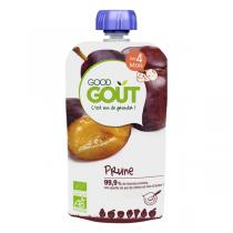 Good Gout - Lot 2 Gourdes de Fruits - Prune 120g