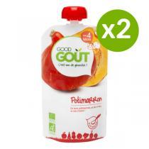 Good Gout - Lot 2 Gourdes de Légume - Potimarron 120g