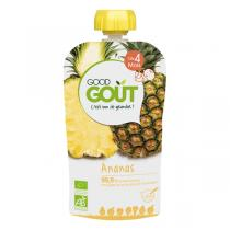 Good Gout - Lot 2 Gourdes de Fruits - Ananas 120g
