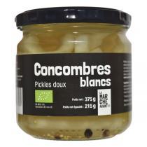 La Marche Avant - Pickles doux Concombres blanc bio - 375 g