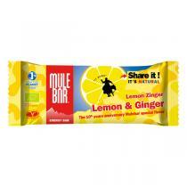Mulebar - Barre énergétique Citron Gingembre bio - 40 g