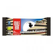 Mulebar - Barre énergétique Réglisse Coco bio - 40 g