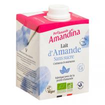 Perlamande - Amandina sans sucre 50cl