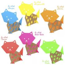 Pirouette cacahouete - Kit Mes chats fluos 4-11ans