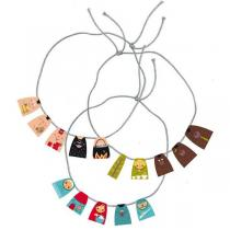Pirouette cacahouete - Kit Mes colliers 3 contes 5-9ans