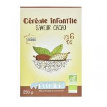 Prémibio - Céréale infantile Saveur cacao bio - Dès 6 mois - 250 g
