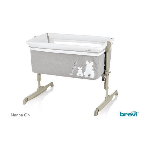 Brevi - Nanna Oh - Berceau balancelle Lapinou Perle