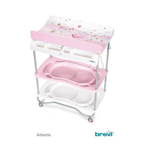 Table langer atlantis plouf rose brevi for Table a langer rose