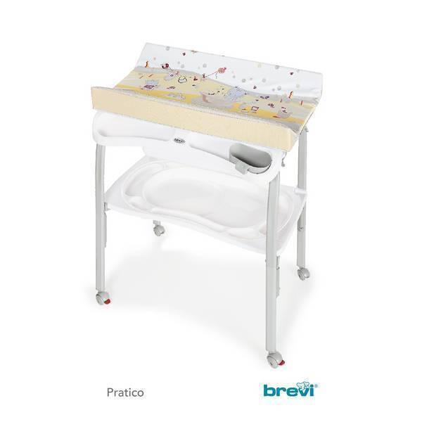 Brevi - Table à langer Pratico Plouf Caramel