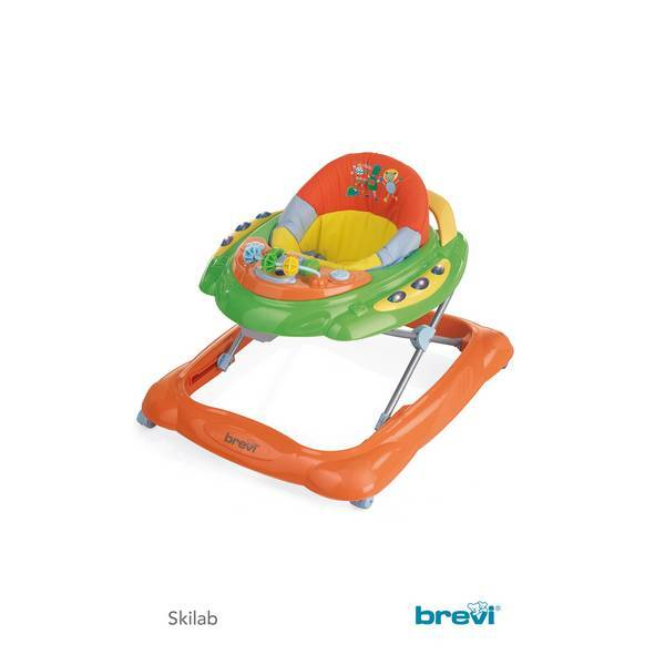 Trotteur Skylab Orange/vert | Brevi | Natiloo.