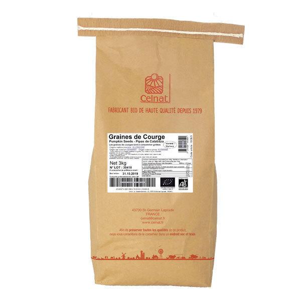 Celnat - Graines de courge 3kg