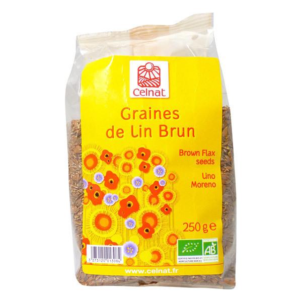 Celnat - Graines de lin brun Bio 3kg
