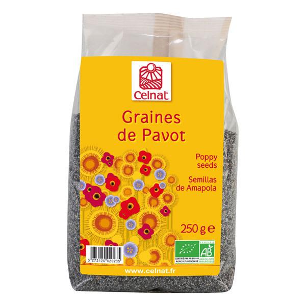 Celnat - Graines de Pavot bio - 250g