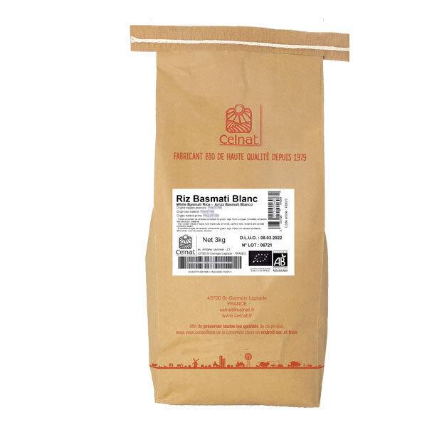 Celnat - Riz basmati blanc 3kg