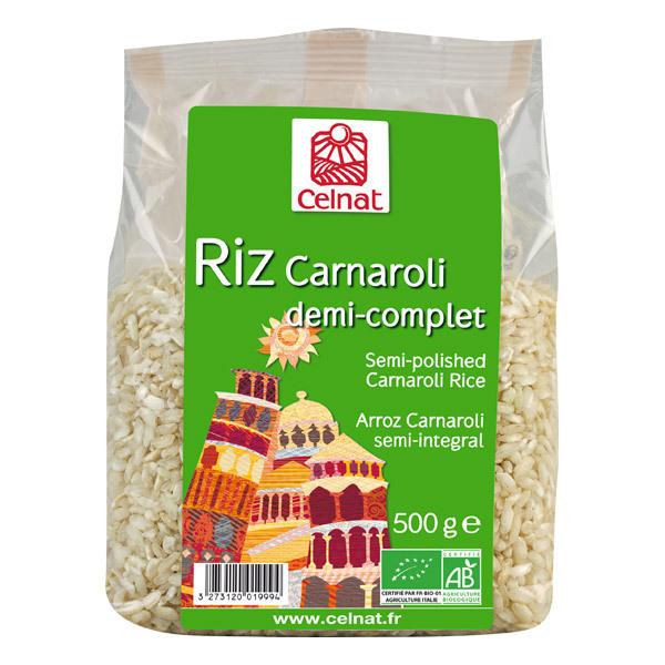 Celnat - Riz long Carnaroli demi complet bio - 500g