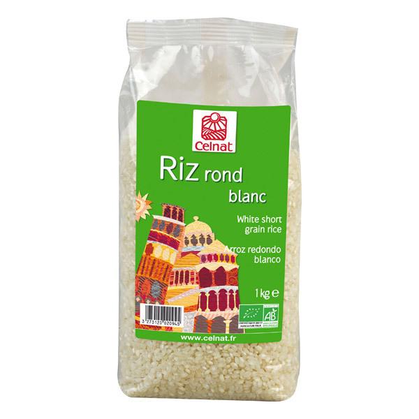 Celnat - Riz Rond blanc bio - 3Kg