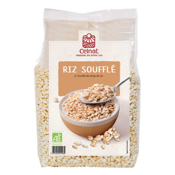 Celnat - Riz Soufflé bio - 375g
