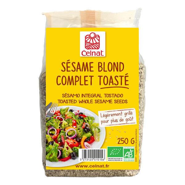 Celnat - Sésame blond complet toasté 250g