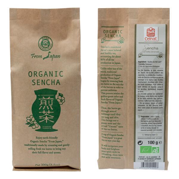 Celnat - Thé vert nature Sencha bio - 100 g