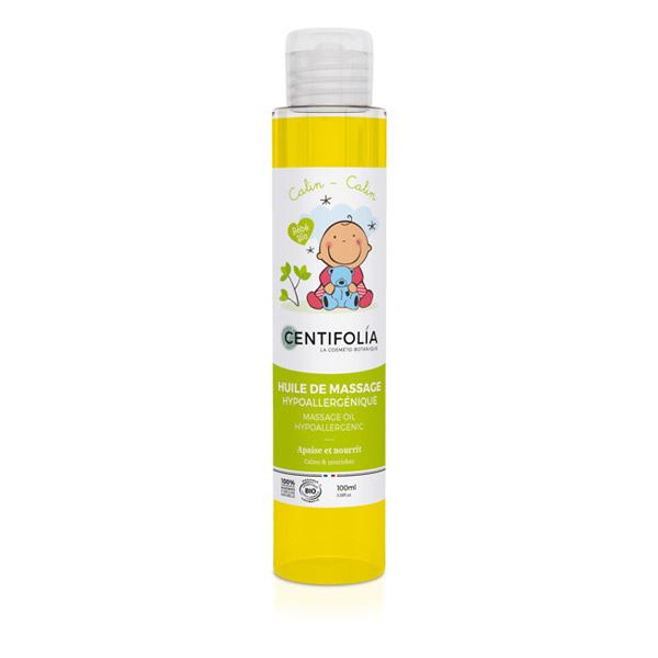 Centifolia - Huile de massage pour bébé - 100 mL