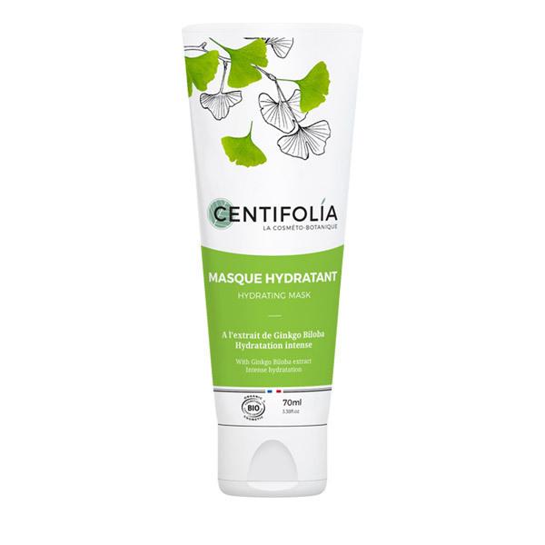 Centifolia - Masque hydratant à l'extrait de Gingko Biloba - 70 mL