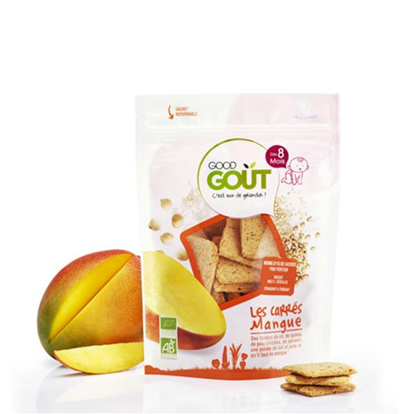 Good Gout - Carrés Mangue bio - 50 g - dès 8 mois