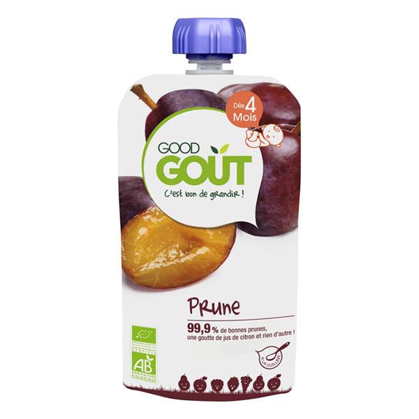 Good Gout - Lot 2 Gourdes de Fruits - Prune 120g