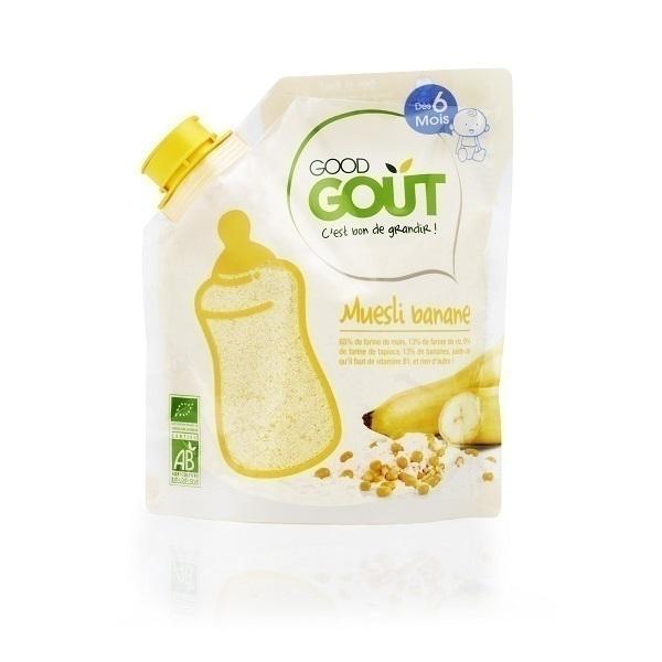 Good Gout - Muesli Banane bio - 200 g - dès 6 mois