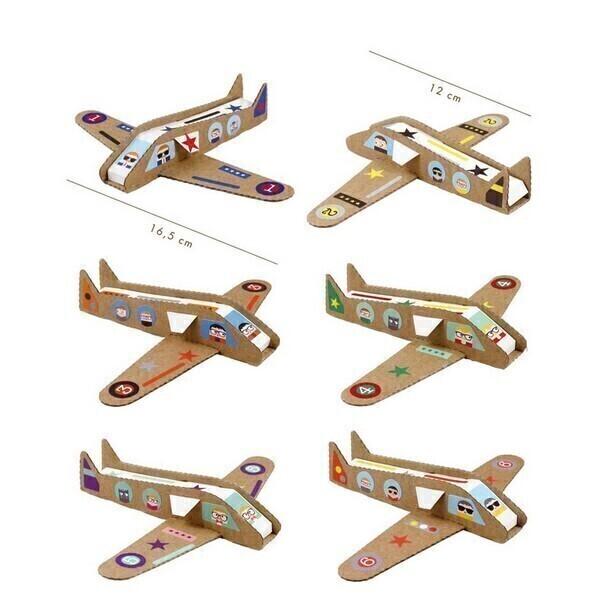 Pirouette cacahouete - Kit Mes avions à réaction 6-11ans