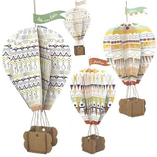 Pirouette cacahouete - Kit Mes montgolfières 7-11ans