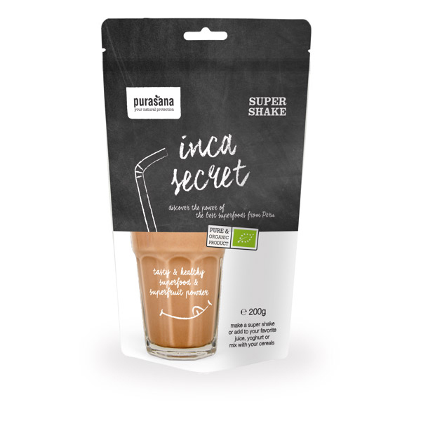 Purasana - Supershake Bio Inca Secret 200 g