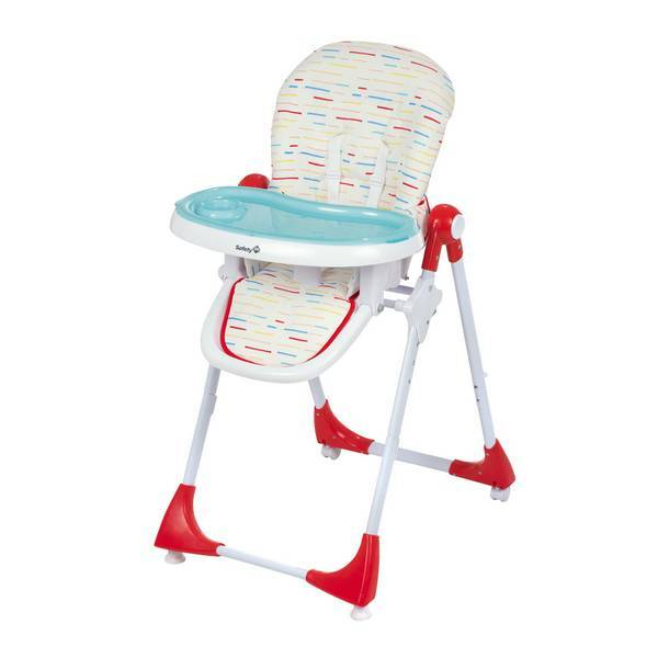 Safety 1St - Chaise haute Kiwi 3 en 1 Rouge