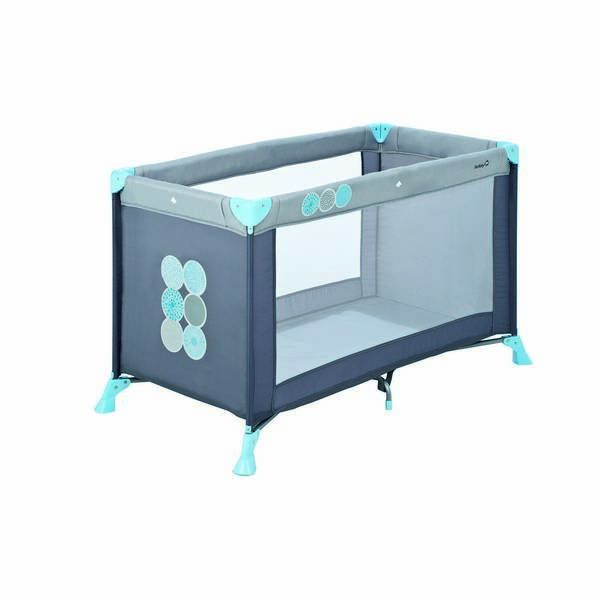 lit parapluie soft dreams gris bleu safety 1st la r f rence bien tre bio b b. Black Bedroom Furniture Sets. Home Design Ideas