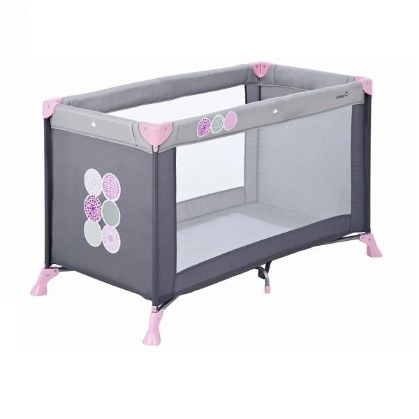 lit parapluie soft dreams gris rose safety 1st la r f rence bien tre bio b b. Black Bedroom Furniture Sets. Home Design Ideas