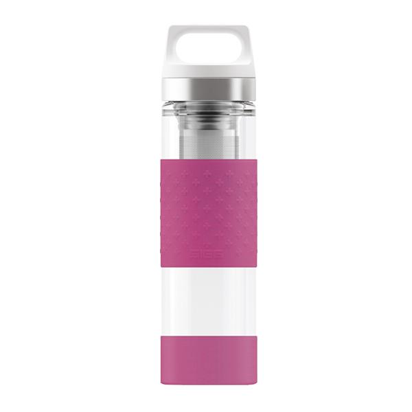 Sigg - Bouteille isotherme Hot & Cold en verre Rose 40cl