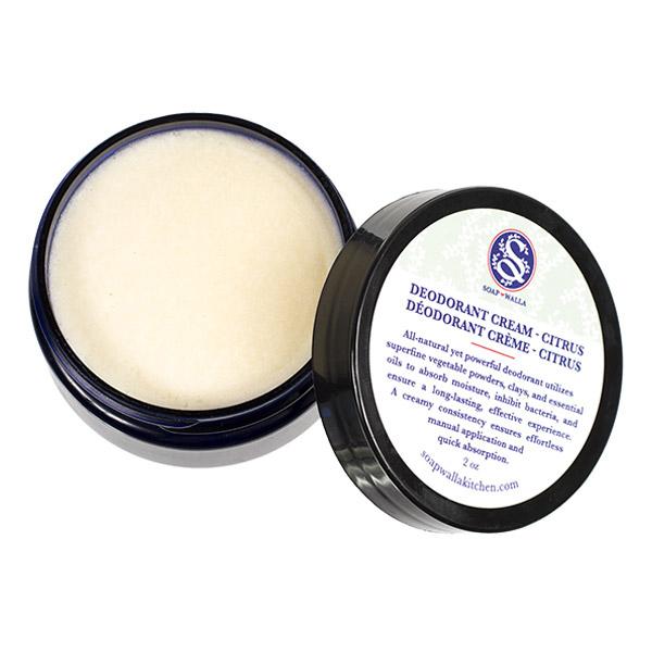 Soapwalla - Déodorant crème Citrus 57 g