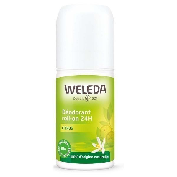 Weleda - Déodorant roll-on 24H Citrus - 50 mL