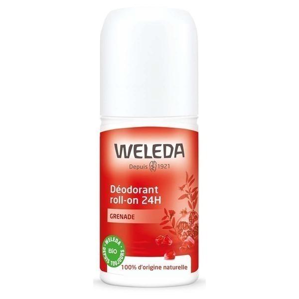 Weleda - Déodorant roll-on 24H Grenade - 50 mL