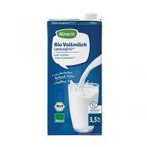 Alnavit - Lait entier sans lactose bio 1 L