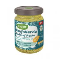 Alnavit - Pesto de chanvre et basilic bio 135 g