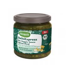 Alnavit - Sauce indienne au chanvre et épinards bio 350 ml